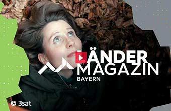 3sat Beitrag im Länder Magazin Bayern - Wildniscamp – den heimischen Wald ganz anders erleben