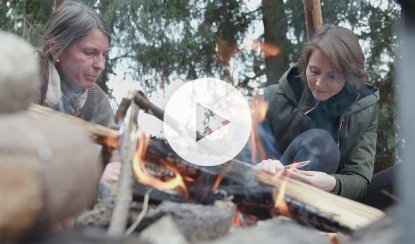 BR Beitrag - Wildniscamp: Den heimischen Wald anders erleben